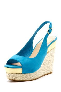 Dolce Vita Joss Wedge Sandal. These would be so much cuter without the open toe. (in my opinion)