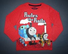 Thomas&Friends von Marks&Spencer Gr. 110 (4-5 Jahre) 6,00 Thomas And Friends, Christmas Sweaters, Graphic Sweatshirt, Sweatshirts, Fashion, Guys, Clothing Apparel, Moda, La Mode