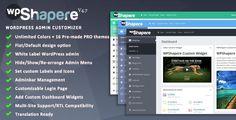 WPShapere v4.7 - Wordpress Admin Theme - https://codeholder.net/item/wordpress/wordpress-admin-theme-wpshapere