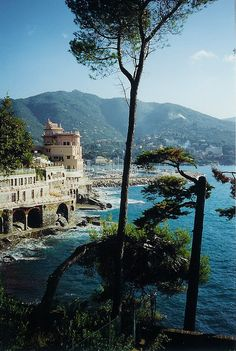 Santa Margherita, Italy-this beautiful town is just the opposite of the Cinque Terre villages-but still glorious....