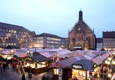 The Christkindlesmarkt in Nuremberg is one of the best-known Christmas markets in the world. Check the times and locations of the market with its famous Christkindl. Nuremberg Christmas Market, German Christmas Markets, Christmas Markets Europe, Christmas Family Vacation, Christmas Travel, Christmas Fun, Magical Christmas, Christmas Pictures, Holiday Travel