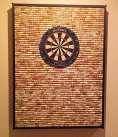 Cork backboard for a dart board. I am trying to not destroy my walls. For the future game room