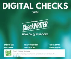 Digital checks - Send paper less checks instantly saving cost and time