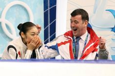 Kim Yu Na and Brian Orser