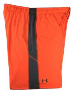 3c3bff96dfa0 Under Armour Mens HeatGear Stretch Loose Fit Shorts Orange XL 2XL  1291321-889  UnderArmour  ActivewearShorts