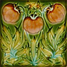 Henry Richards c1901 - RS0476 - Art Nouveau Tiles