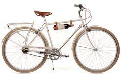 wine carrier. bike.