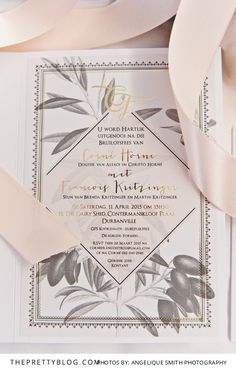 Mediterranean Inspired Wedding | Real weddings | Wedding Stationary Inspiration | Photography by Angelique Smith Photography