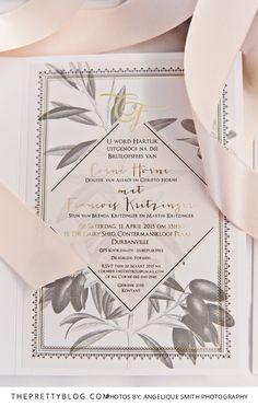 Mediterranean Inspired Feast: Francois & Corné's Wedding Botanical Wedding Invitations, Rustic Invitations, Wedding Invitation Design, Wedding Stationary, Party Invitations, Olive Wedding, Woodsy Wedding, Invitation Paper, Invitation Ideas