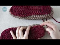 Crochet This Easy And Elegant Slipper Crochet And Knit