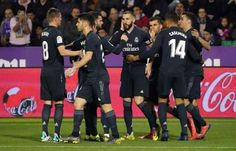 Real Madrid is a Spanish football club. Real Valladolid is a Valladolid, Spain Football today news. Football Wags, Football Today, Football Match, Baseball, Madrid Football Club, Spain Football, Messi Crying, Arsenal Match, Real Madrid Win