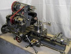 A brilliantly refurbished Myford lathe.I WANT this soooooo bad! Metal Working Machines, Metal Working Tools, Old Tools, Lathe Accessories, Arduino, Types Of Welding, Machinist Tools, Antique Woodworking Tools, Woodworking Ideas