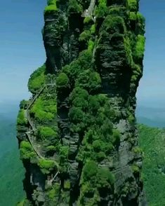 Abenteuerreisen Incredible view of Fanjingshan or mount Fanjing, Guizhou, China Beautiful Places To Travel, Wonderful Places, Cool Places To Visit, Beautiful Places In America, Amazing Places On Earth, Vacation Places, Vacation Spots, China Travel, Amazing Nature