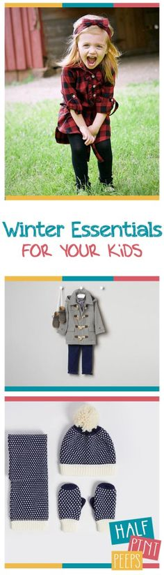 Winter Essentials for Your Kids| Winter Clothing for Kids, Clothing for Kids, Winter Clothing, Clothing for Kids, Kid Stuff, Kids Clothing #KidsStuff #WinterClothing #WinterClothingforKids