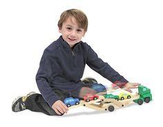 Toy Car Carrier Truck | Melissa & Doug
