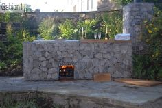 gabion fire detail