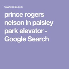 prince rogers nelson in paisley park elevator - Google Search