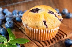 100 Calorie Blueberry Muffins Recipe Sub oat flour and gentle sweet or truvia