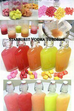 Just like Skittles Vodka, but now its Starburst Vodka!!!!