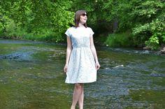 Schnittmuster Sommerkleid: Federleicht Basisschnitt   textilsucht