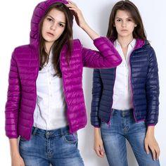 640d44411b7e NewBang Brand Women Duck Coats Ultra Light Down Jacket Women Lieghtweight  Double Side Reversible Jackets Women s