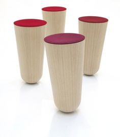 German designer Thorsten Franck created the Out of Balance stool.