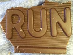 Crunch bar is trying to tell you something...