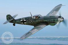 Messerschmitt Bf109 Classic Aircraft Photography