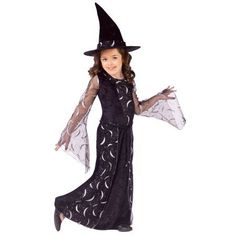 Child Celestial Sorceress Costume, Kids Unisex, Size: Child Small (4-6), Multicolor