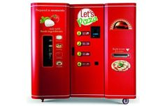 The #pizza #vending machine may possibly be the greatest invention every.