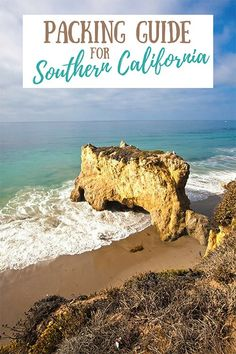 Our women's packing guide for Southern California (written by a local!) covers everything you need to know for planning a trip to this part of California! #socal #southerncalifornia #californiapackingguide #travelpacking