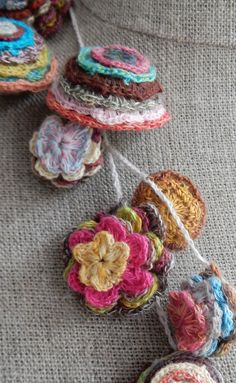 """""""Pop Up"""" Necklace – French Needlework Kits, Cross Stitch, Embroidery, Sophie Digard – The French Needle"""