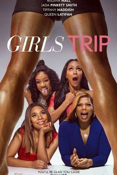 Girls Trip Full MOvie . Stars : Jada Pinkett Smith, Regina Hall, Kofi Siriboe, Queen Latifah, Tiffany Haddish, Larenz Tate Overview : Four girlfriends take a trip to New Orleans for an annual festival and, along the way, rediscover their wild sides and strengthen the bonds of sisterhood.  Must see movie of 2017. Loved it!