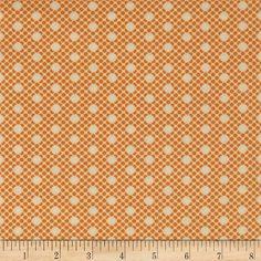 Moda Scrumptious Dot Orange