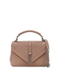 c3d38b5511fa Saint Laurent Monogram Medium College Shoulder Bag