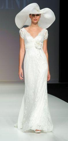 Cymbeline bridal dress (minus the hat)