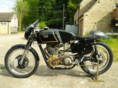 AJS 7R. Such a beautiful motorcycle!