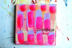 Birgit Nagengast, Love Bags on the table, 2015, München