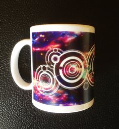 Get This Glow In The Dark Doctor Who Mug Personalized With Your Name in Gallifreyan