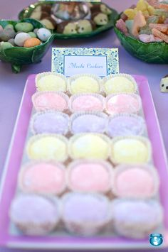 Fairy mochi (lo mei chi) cake idea for Birthday party