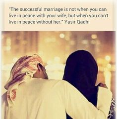 50 best islamic quotes about marriage. islamic quotes about marriage islam has put a lot of emphasis on the importance of marriage the right and wrong, the good and bad aspects and what to avoid are. Muslim Couple Quotes, Muslim Love Quotes, Love In Islam, Beautiful Islamic Quotes, Islamic Inspirational Quotes, Muslim Couples, Islamic Qoutes, Islamic Teachings, Islamic Messages