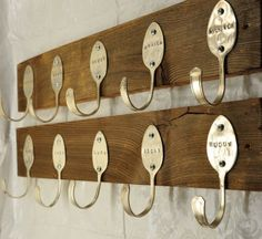 Lepels upcycled - Mooi op hout!