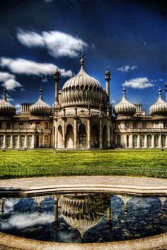 The Royal Pavillion, Brighton, UK.