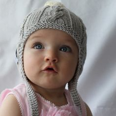 Baby & Toddler Beanie - Organic Cotton Hand Knitted | fawn and milk