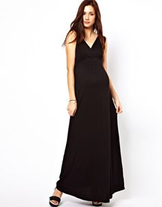 Enlarge New Look Maternity Jersey Maxi Dress - $33