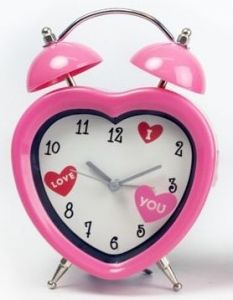Heart Shape Alarm Clock (Pink or Red) - Unique Inspired Gift Ideas From Tain Brae World