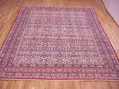 "Persian: Floral 11' 1"" x 9' 0"" Antique Lavar at Persian Gallery New York - Antique Decorative Carpets & Period Tapestries"