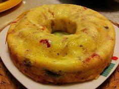 Ομελέτα στη φόρμα του κέικ !!! ~ ΜΑΓΕΙΡΙΚΗ ΚΑΙ ΣΥΝΤΑΓΕΣ 2 Cookbook Recipes, Cooking Recipes, German Cake, Bagel, Biscuits, Bread, Snacks, Baking, Food