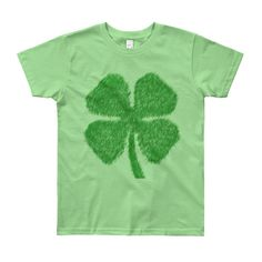 Clover - Youth Short Sleeve T-Shirt