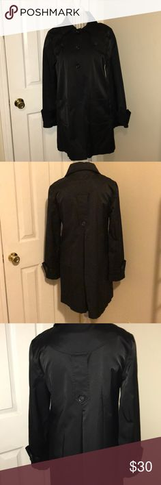 DKNY Trench Coat DKNY Trench coat black with inside lining... Dkny Jackets & Coats Trench Coats